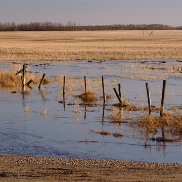 Leduc County Melt Water