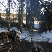 Spring Camp, North of Slate Falls
