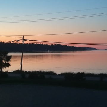 Qualicum Bay Sunset