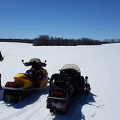 Snowmobiling April 20!! What????!!!