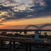 Sunset in Memphis