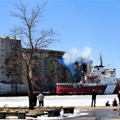 The Canadian Coast Guard Ship Samuel Risley April 21 2018