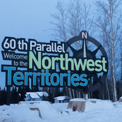 Border between AB & NWT
