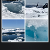Lake Superior winter 'ice land'