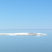 Spring ice on Georgian Bay