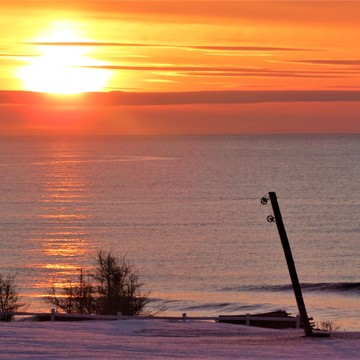 Sunrise over the Bay of Chaleur