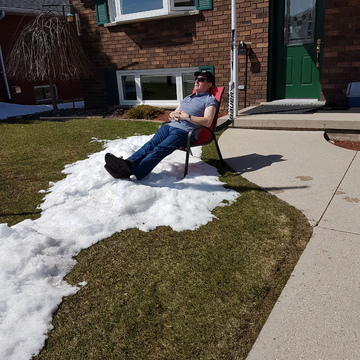 Canadians in Spring