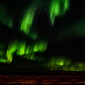 Awesome display of northern lights.