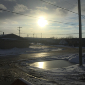 Attawapiskat change of season
