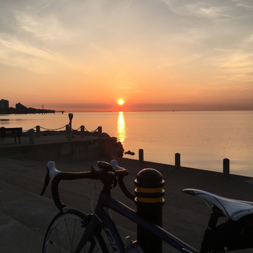 Sunrise at Spencer Smith Park