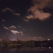 Evening at Trout Lake