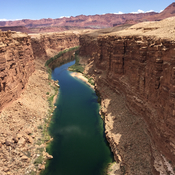 The mighty Colorado River