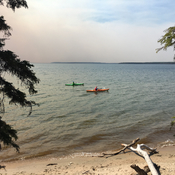 Kayaking in Waskesiu