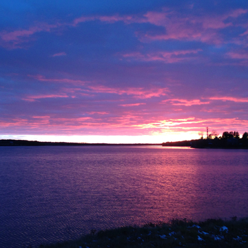 Sunset in Rexton