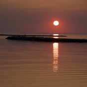 Sunset in Goderich