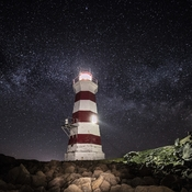 Brier Island Light at Night II