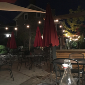 Patio at Caledon Inn