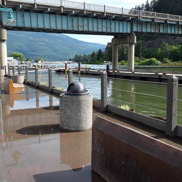 Flooding in Sicamous on Shuswap Lake