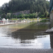 Sicamous Shuswap Lake flooding
