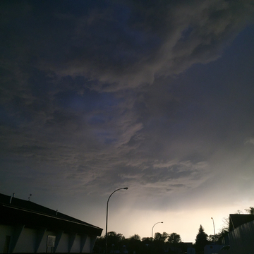 May 26 beginning of storm