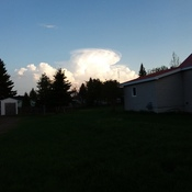 cloud over Matheson, ON