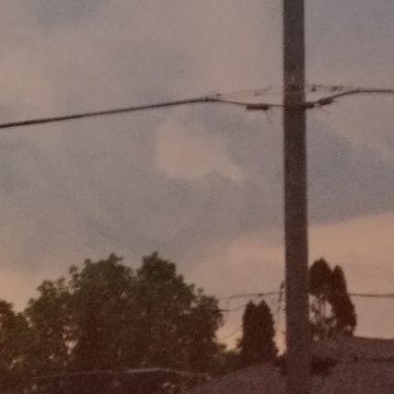 looks like a funnel cloud in London ontario