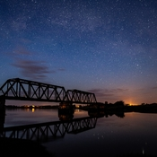 Astronomical Twilight on The Gaspereau River