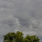 strange looking clouds