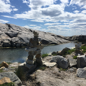 Inukshuk in the Cove