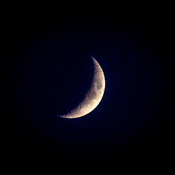 Tonights quarter moon