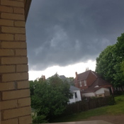 Holy dark clouds