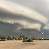 Interesting storm cloud