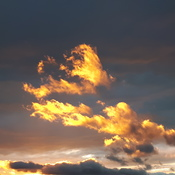 Ottawa lion fire clouds