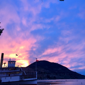Sunset over the Sicamous