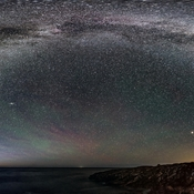 Milky Way Over Green Cove