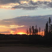 Sunset Fort McMurray