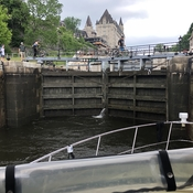 Windy day through the Ottawa locks!!