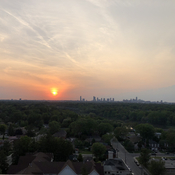 Sunset at Mississauga