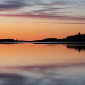 Moosonee before sunrise