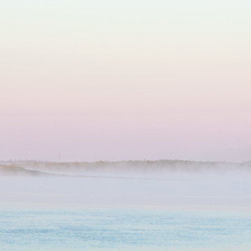 Fog up the Moose River