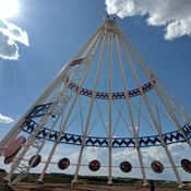 Worlds Largest Teepee!