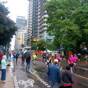 A Wet Pride Run in Toronto