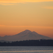 Mount Baker from Mill Bay