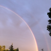 Rainbow in Orleans On