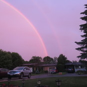 Rainbow over Nepean, ON