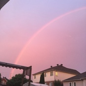 Beautiful rainbow