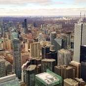 Downtown Toronto frim CN Tower