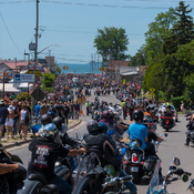Port Dover is Packed
