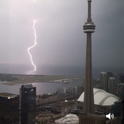 Storm over Toronto July 16, 2018