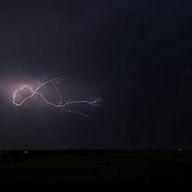 Lightening over Elnora